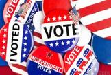 Bundle of 4 - Voting & Elections - Political Parties, Voting Process, LP, 3PP