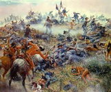Bundle of 4 - Western Expansion in the U. S. - Battle of the Little Bighorn