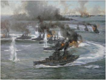 Bundle of 4 - World War I - Key Naval Battles