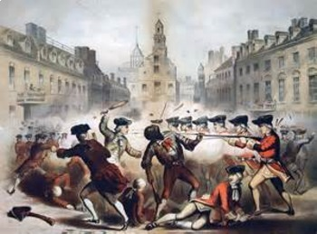 Bundle of 5 - American Revolutionary War - War Begins in Boston