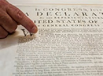Bundle of 5 - Factors of Creating the Declaration of Independence