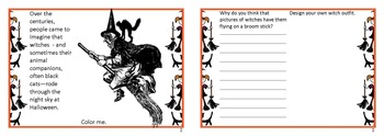 Bundle of 5 Halloween Flip Books.