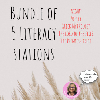 Bundle of 5 Learning Stations Units: Great Deal: Common Core Aligned