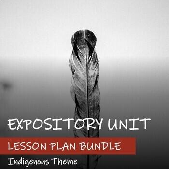 INFORMATIONAL TEXT UNIT - Indigenous Theme (FNMI) - BUNDLE of Lesson Plans