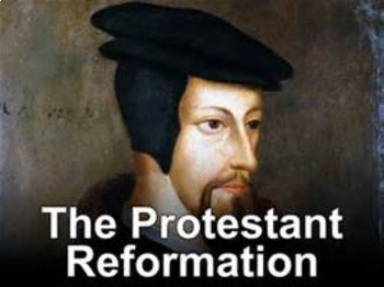 Bundle of 5 - The Protestant Reformation -  Key Figures of the Reformation