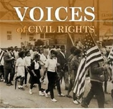 Bundle of 6 - Civil Rights Movement - Key Voices of the Movement