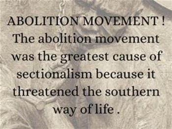 Bundle of 7 - Political Movements & Events - Key Figures of the Abolitionists