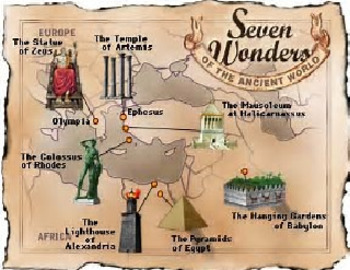 Bundle of 7 - Seven Wonders of the Ancient World