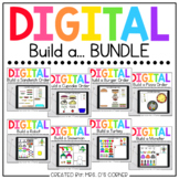 Bundle of 9 Digital Build a... Activities   Distance Learning