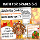 Super T-Day Bundle! Thanksgiving Math, History, and ELA Projects 3rd-6th grades
