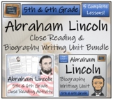 Bundle of Abraham Lincoln Activities