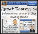 Bundle of Activities on The Great Depression