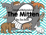 Bundle of Adapted Activities, Printables, & Centers for The Mitten by Jan Brett
