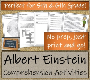Bundle of Albert Einstein Activities