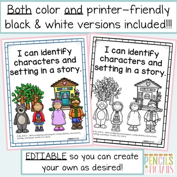 Bundle of All Kindergarten TN Standards in a Student-Friendly Format