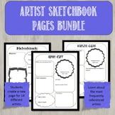 Bundle of All Sketchbook Activities