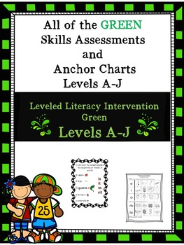 Bundle of All the Green Skills Assessments and Anchor Charts 1st Edition