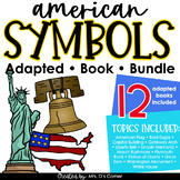 Bundle of American Symbols Adapted Books [Level 1 and Level 2]