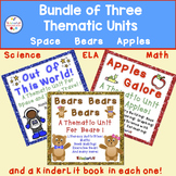 Bundle of Apples, Bears, and Space Thematic Units