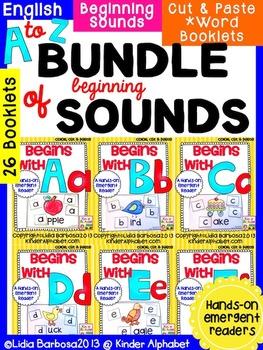 Bundle of Beginning Sounds Readers {a Hands-On Emergent Reader Set}