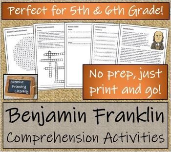Bundle of Benjamin Franklin Activities