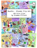 Blends Clip Art Collection in COLOR ONLY - 199 clips