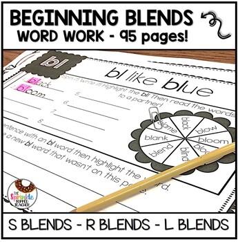 Bundle of Blends (S blends, L blends, R Blends) - 95 Pages