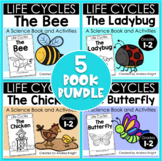 Animal Life Cycles (A Bundle of 5 Books and Comprehension