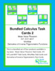 Calculus:  Bundle of Calculus Task Cards 2