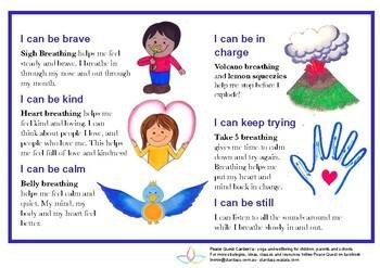 Bundle of Calming Strategies - junior resources