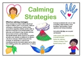 Calming Strategies Bundle - all the junior and senior resources
