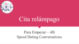 Bundle of Cita Relámpago Speaking Activities for Realidades 1 Chs PE-4B