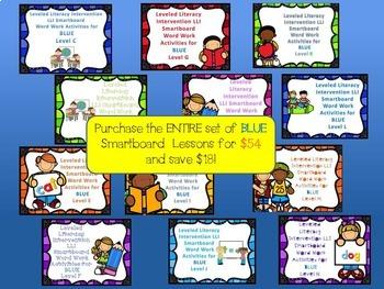 Bundle of Complete Set of Smartboard Activities for LLI BLUE System C-N