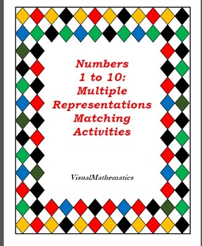 60+ Conceptual Activities & Games, Centers: Kinder, Numbers 1 to 10