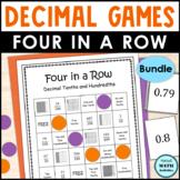 Decimal Four in a Row Games BUNDLE