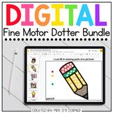Bundle of Digital Fine Motor Dotter Activities | 26 Total
