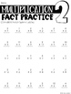Bundle of Division & Multiplication Fact Practice & Assessment Pages