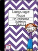 Bundle of EDITABLE Flaps for Interactive Notebooks: Readin
