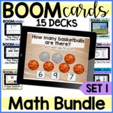 Bundle: Math Skills- Boom Cards {set one}