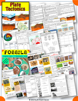 Bundle of Earth Science units - Lesson / Worksheets / Activity