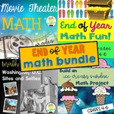 End of School Year Math Activities Bundle