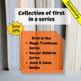 Bundle of First in a Series Novel Units for Special Education