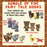 Bundle of Five Fairy Tale Books