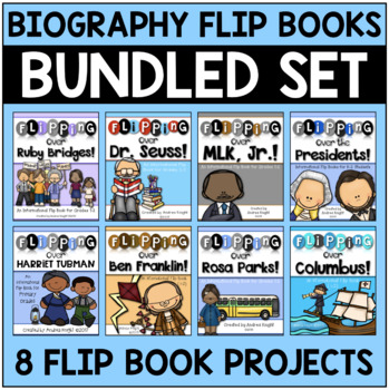 "A Bundle of ""Flipping Over"" Biographies - Set of 7  {Grades 1-2}"