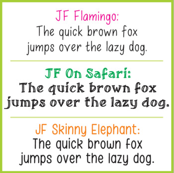 Bundle of Fonts - The Safari Collection
