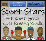 Bundle of Four 'Historical Superstars of Sport' Close Reading Activities