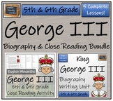 George III Bundle of Activities - 5th & 6th Grade