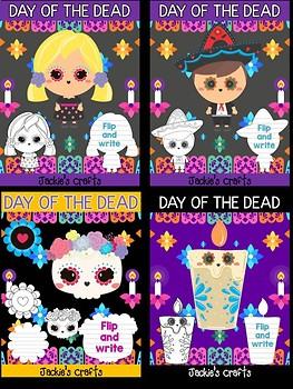 Bundle of Jackie's Craft - Day of the Dead, Dia de Los Muertos Writing Activity