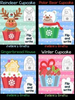 Christmas Cupcakes - Bundle of Jackie's Crafts, Winter Activities, Decor