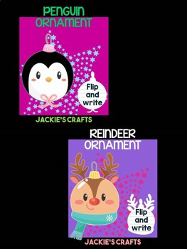 Christmas Ornament Friends - Bundle of Jackie's Crafts, Winter Activities